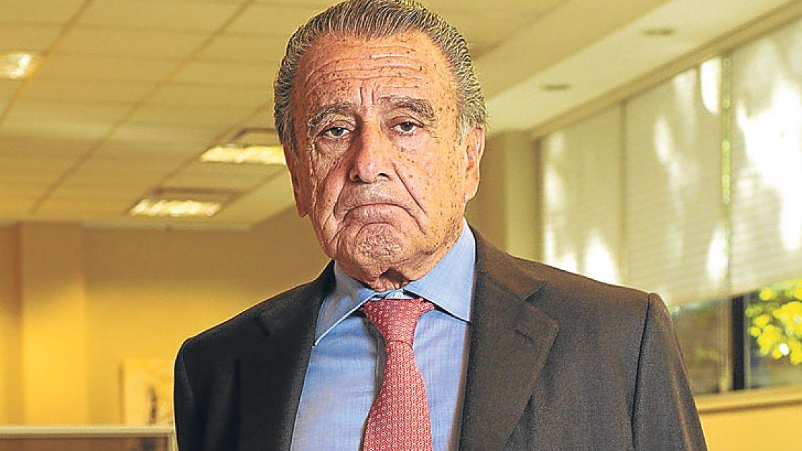 Corporación América boss Eduardo Eurnekian.