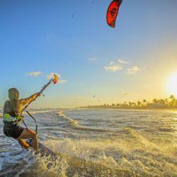 Kitesurf en las playas de Aracajú COP_2698