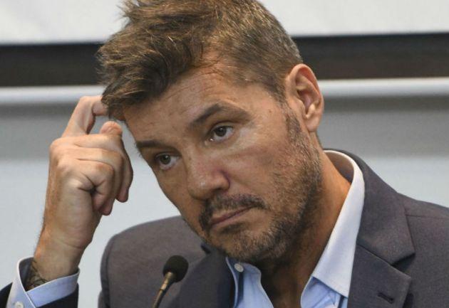 Marcelo Tinelli, furioso con una noticia falsa: