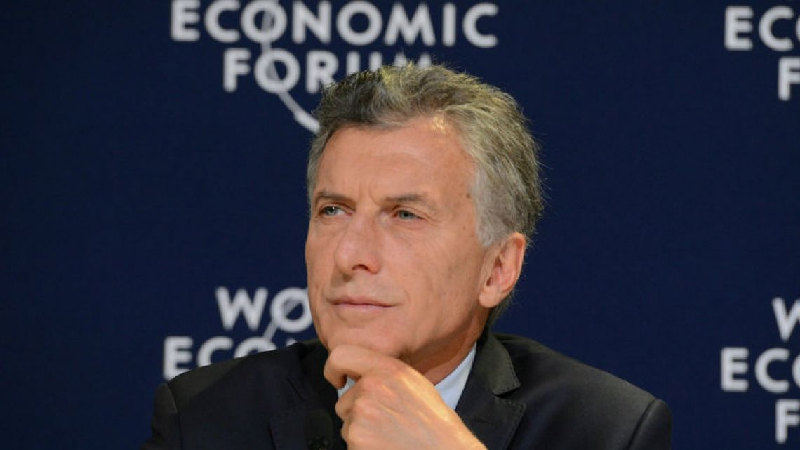 """We don't need more fracking, we don't need more shale, nor oil and gas,"" Macri said in a speech."