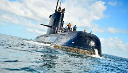 """El """"ARA San Juan"""" de la Armada argentina desapareció el 15 de noviembre de 2017."""