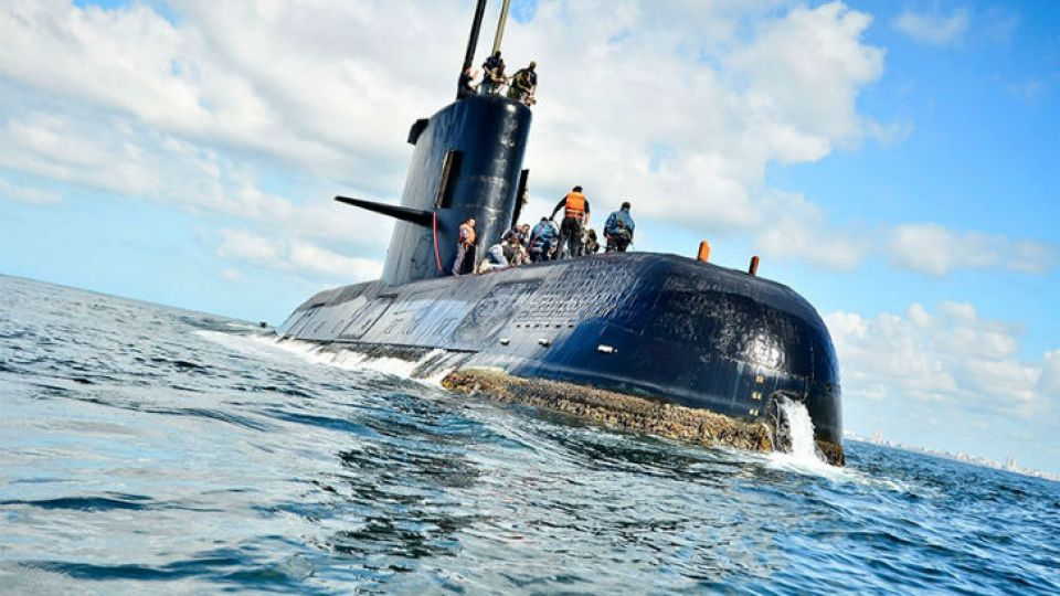submarino ara san juan 20180213