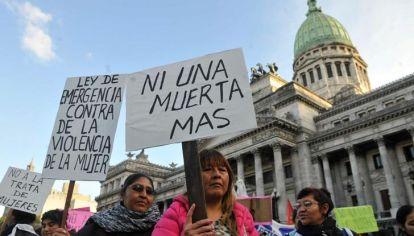 Doscientas noventa y dos mujeres, una cada 30 horas, fueron asesinadas en Argentina durante 2017.