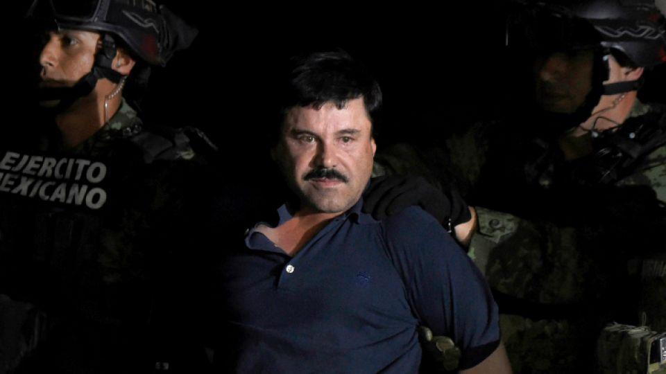 """Come poco, vomita mucho y tiene alucinaciones: """"El Chapo"""" Guzmán se queja de la cárcel."""