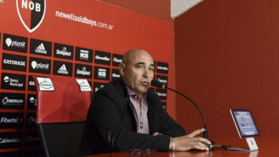 Former Newell's Old Boys head coach Juan Manuel Llop.