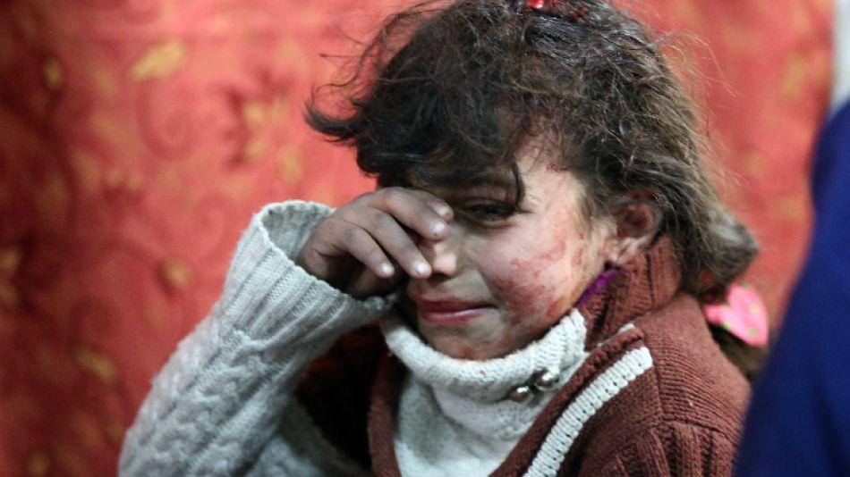 bombardeos siria 20180223