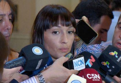 Mayra Mendoza, una de las exponentes del kirchnerismo en materia de género.