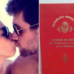 Dalma Maradona-Andres Caldarelli-casados