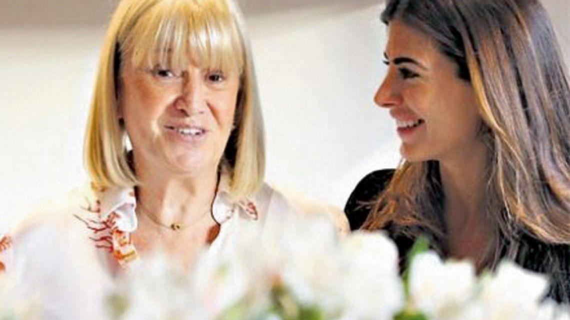 Noticias | La suegra de Macri cumplió 84 años y Juliana Awada lo festejó a la distancia