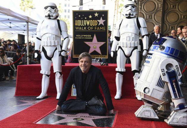 Estrella en Paseo de la Fama de Hollywood para Mark Hamill