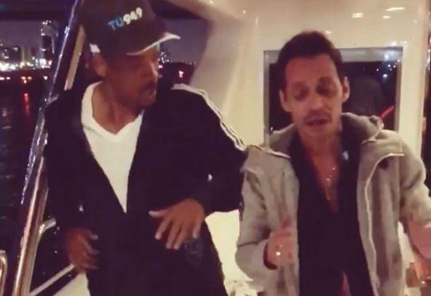 Will Smith y Marc Anthony enseñan a bailar salsa en redes sociales