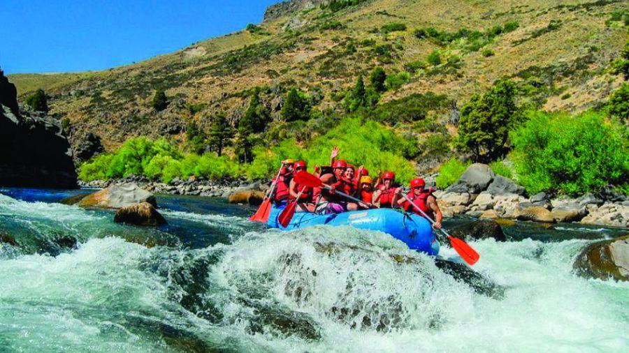 ruta del pehuen Alumine_rafting