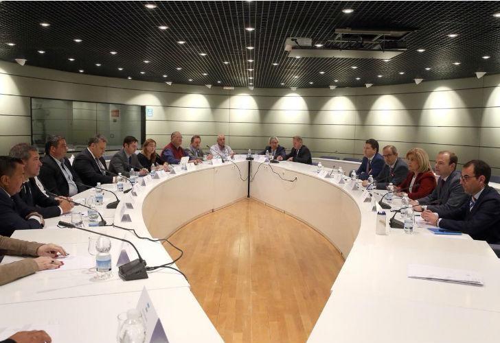 Una reunión con el Consejo Económico y Social (CES)