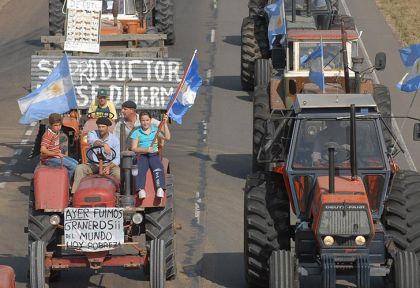Resultado de imagen para argentina paro agrario 125