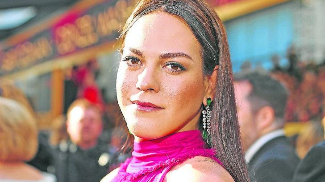 Daniela Vega attends the 90th Annual Academy Awards, better known as The Oscars.