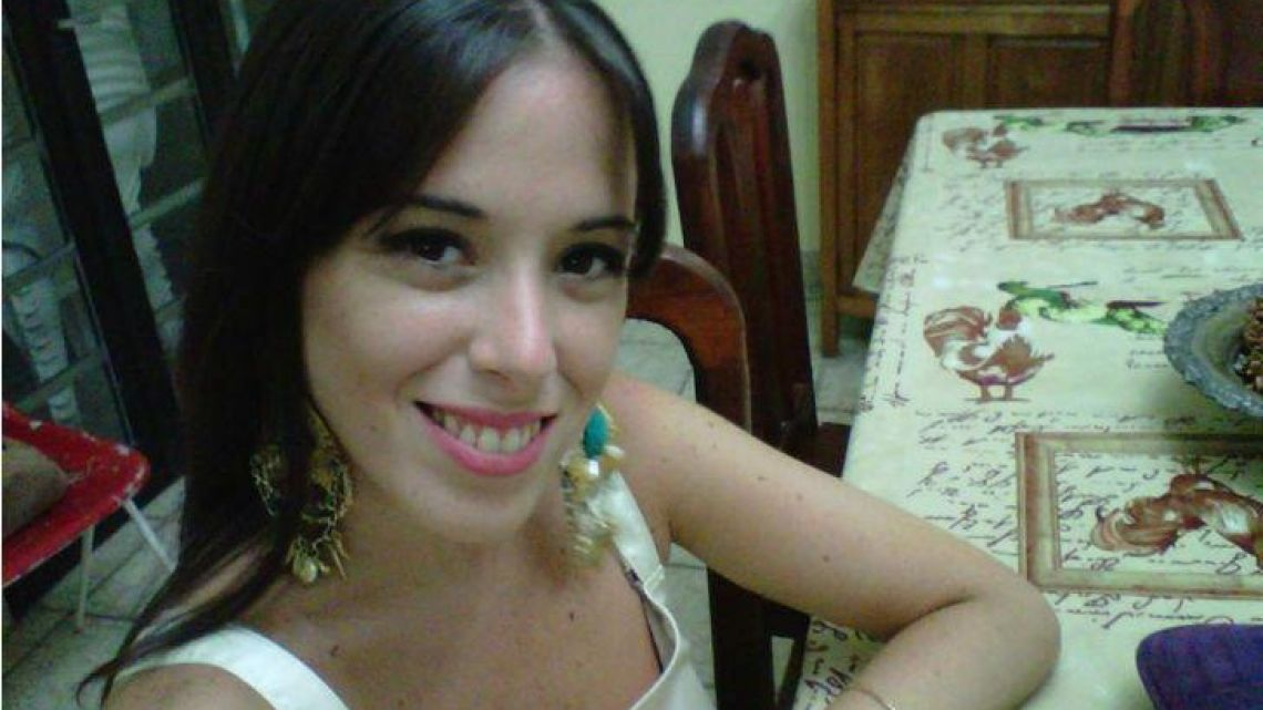 The 28-year-old Argentine victim of the New York East River helicopter crash Carla Vallejos Blanco.