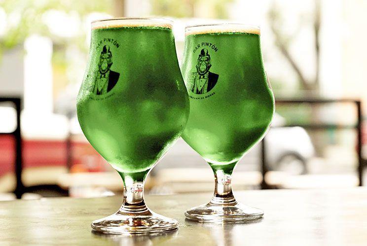 """Verde. Liviana y frutada, se """"tiñe"""" con colorante."""