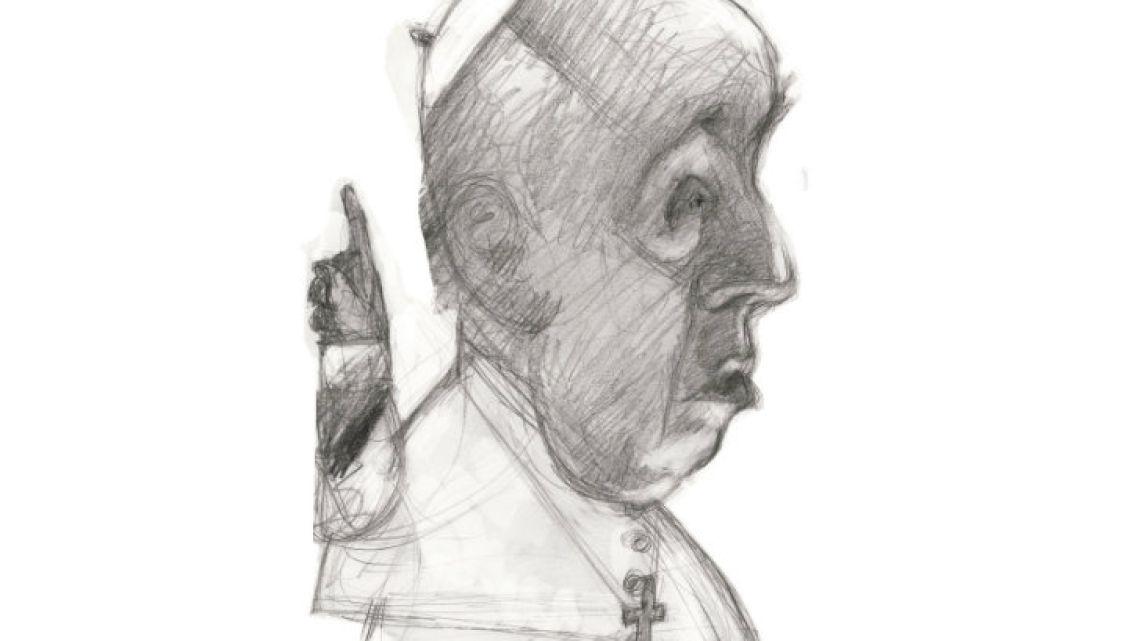 Pope Francisco Bergoglio .