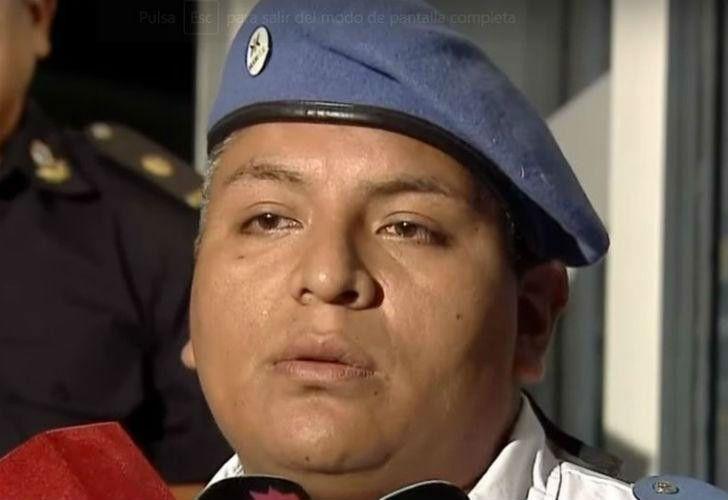 Luis Chocobar, el efectivo que mató al ladrón que intentó escapar luego de apuñalar a un turista estadounidense en La Boca en diciembre de 2017.