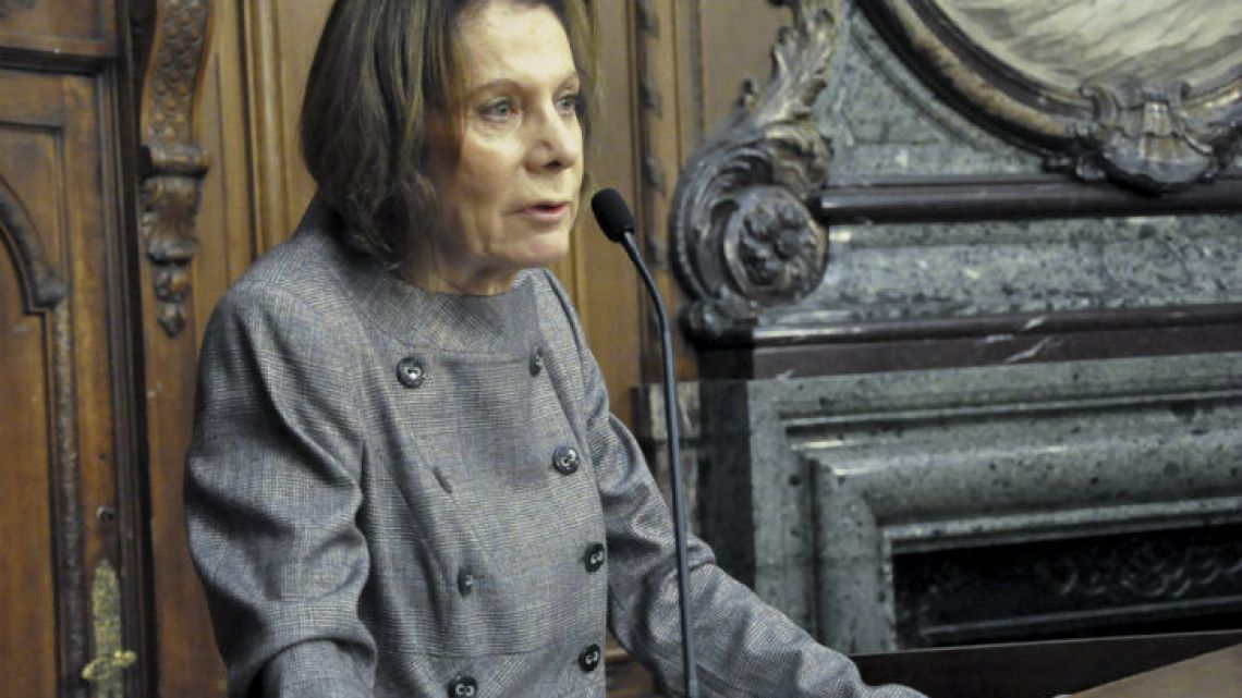 Inés Weinberg de Roca, President Mauricio Macri's nomination for the position of attorney general (Procurador General de la Nación).