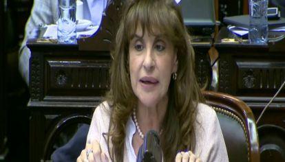 Olga Rista, diputada de la Unión Cívica Radical.