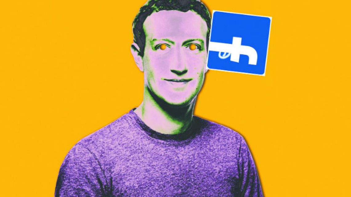 Mark Zuckerberg in Facebook's worst crisis since its creation.