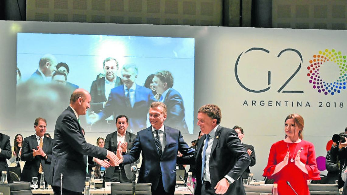The G20 annual reunion was held in Argentina for the first time.