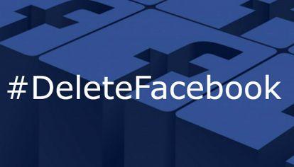 La campaña Delete Facebook comenzó a imponerse en Argentina.