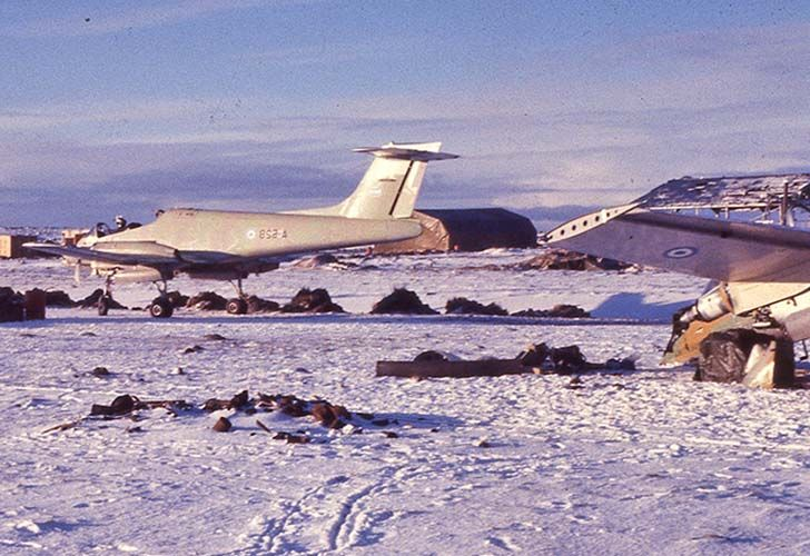 Guerra de las Malvinas 1982