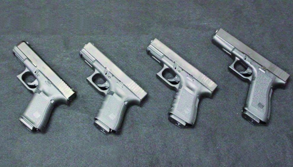 Ver fotos de pistolas glock 40 17 45