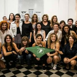 Actrices argentinas por el aborto legal
