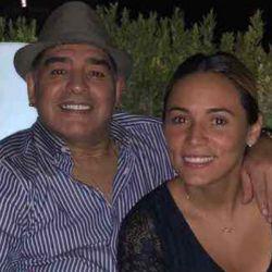 Diego Maradona-Rocio Oliva