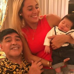 Diego Maradona,Rocio Oliva, Diego Matias