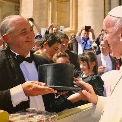 El Mago sin dientes-Papa Francisco