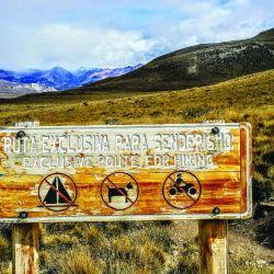 Entrada a la Reserva Nacional Lago Jeinimeni