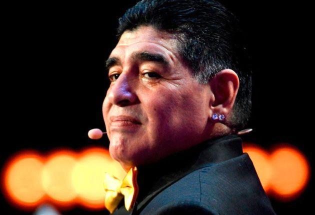 Maradona faltó al casamiento por una señal