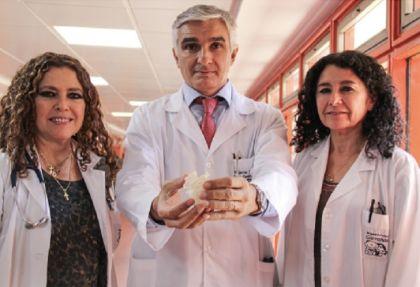 Impresión 3D de corazones en el Garrahan