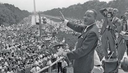 Voz. Fue el defensor de los derechos civiles de sus hermanos afroamericanos.