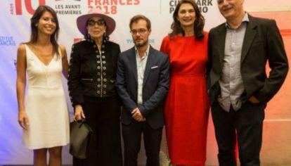 Les avant-premiéres en su décima edición presenta en el Cinemark Palermo del 5 al 11 de abril Cine Francés 2018.