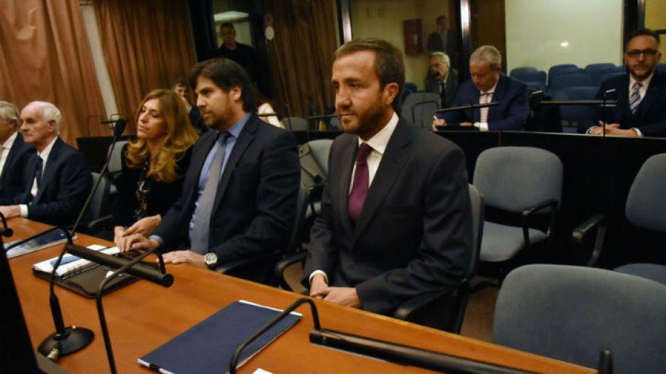 Imagen de archivo | Alejandro Vandenbroele en una nueva audiencia del juicio oral y público que se le sigue junto al exvicepresidente Amado Boudou.