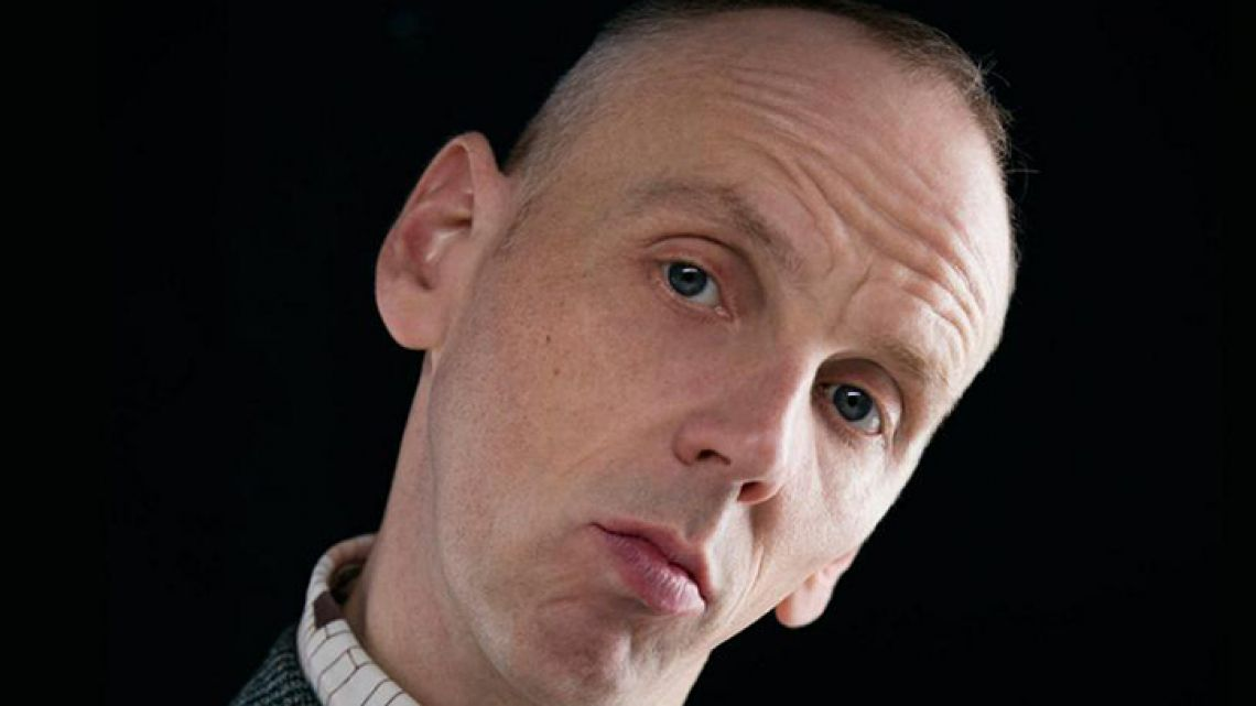 Scottish actor Ewen Bremner.