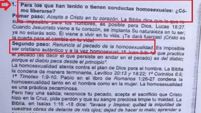 """Polémica en Paraná: una escuela cristiana repartió una guía """"para ..."""