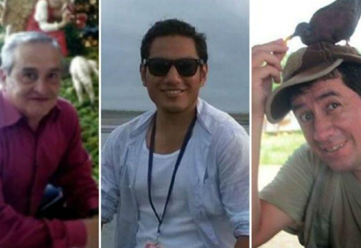Efraín Segarra, Javier Ortega y Paúl Rivas fueron secuestrados el pasado 26 de marzo en la provincia de Esmeraldas, fronteriza con Colombia.