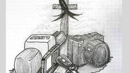 Ilustración por el equipo periodístico que fue asesinado en Ecuador