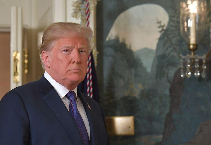 Donald Trump brindó un discurso ante el publico de Estados Unidos sobre la situación en Siria.