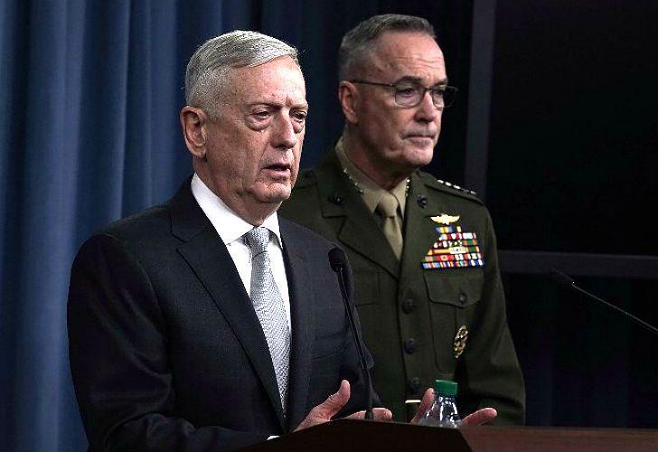 Jim Mattis, secretario de Defensa estadounidense.