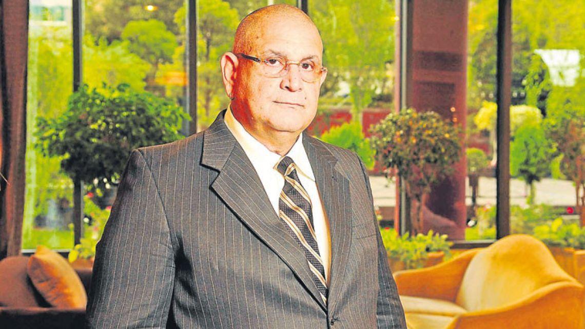Venezuelan marine technology expert Hugo Marino.