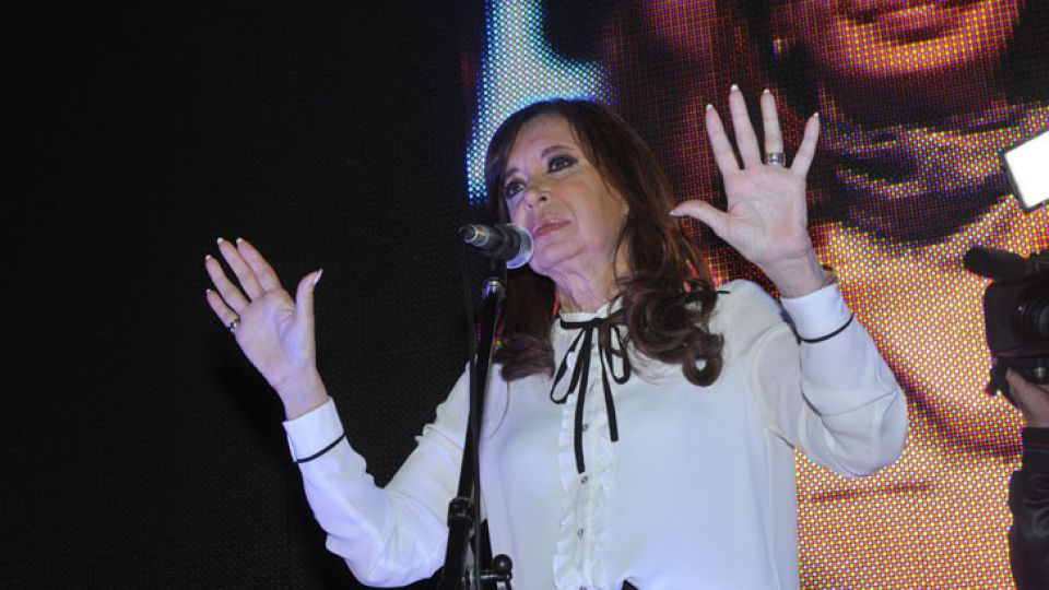 """Cristina Fernández de Kirchner, contra el """"tarifazo"""""""