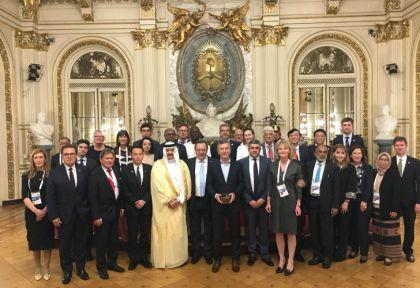 Macri con ministros de Turismo del G20