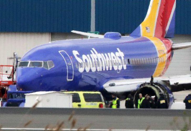 """Expertos concluyen que la tripulación de Southwest 1380 fue """"muy eficiente"""""""